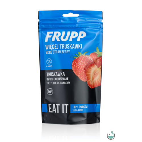 Frupp Liofilizált eper 13 g – Natur Reform