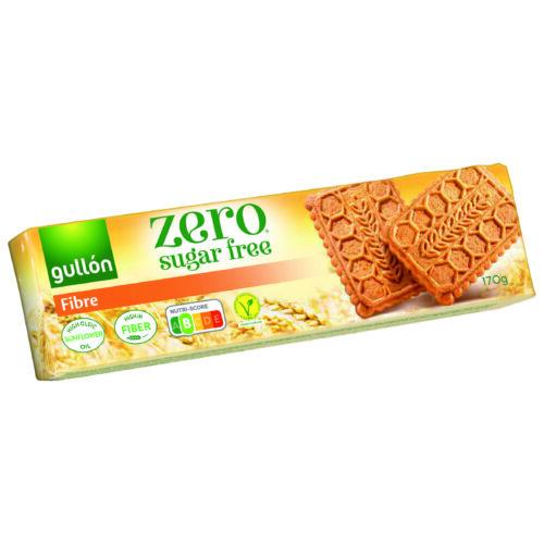 Gullón Élelmi rostban gazdag cukormentes keksz, édesítőszerrel 170 g – Natur Reform