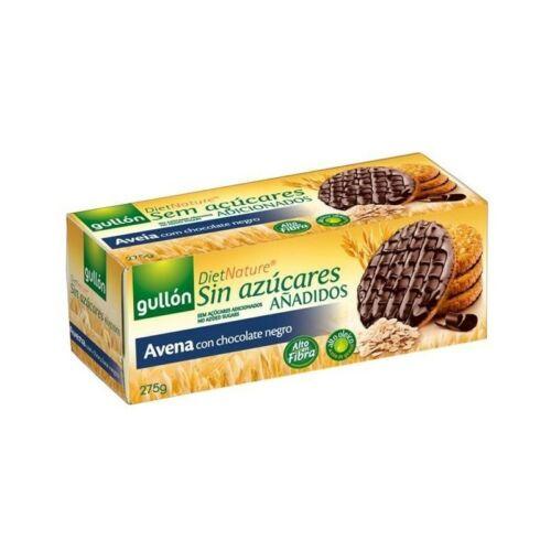 Gullón Avena étcsokoládés zabkeksz hozzáadott cukor nélkül 275 g
