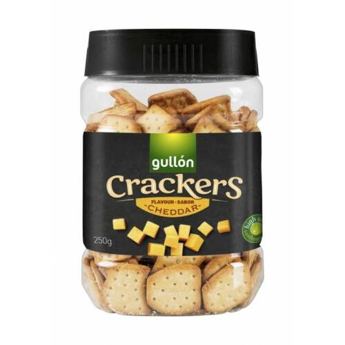 Gullón Cracker cheddar sajttal 250 g - Natur Reform