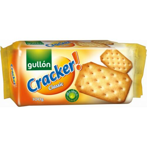 Gullón Cracker Classic - sós keksz 100 g - Natur Reform