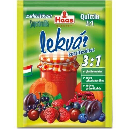 Haas Quittin 3:1 zselésítő befőzőszer 25 g - Natur Reform