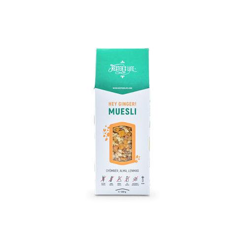 Hester's Life Hey ginger! Muesli - Gyömbéres-almás müzli 300 g