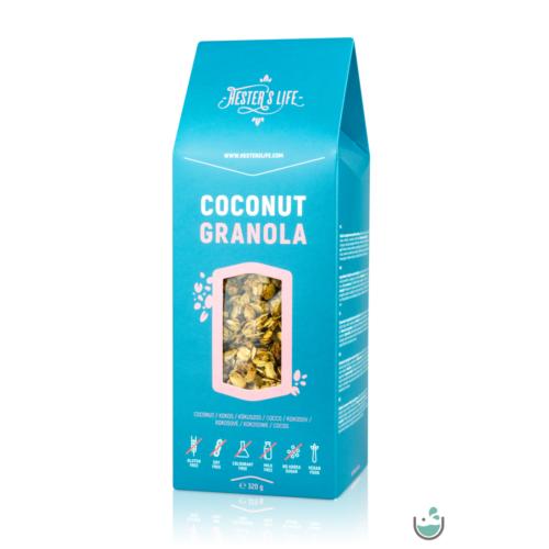 Hester's life coconut granola – kókuszos granola 320 g