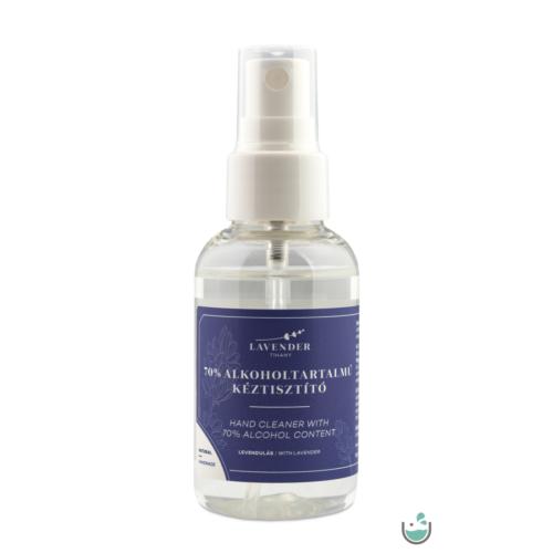Lavender Tihany 70% Alkoholtartalmú Levendulás Kézfertőtlenítő 50 ml – Natur Reform