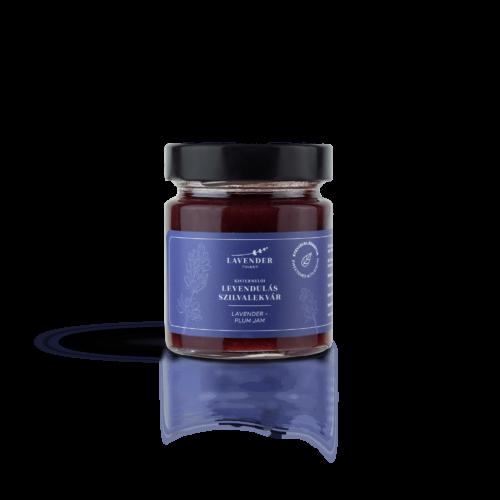 Lavender Tihany Levendulás Szilvalekvár (hozzáadott cukor nélkül) 220 ml