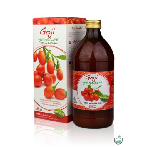 Mannavita Goji gyümölcslé 100%-os, 500 ml