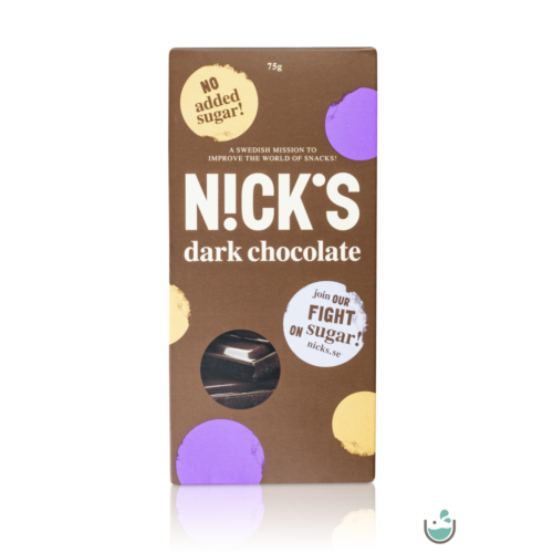 N!ck's gluténmentes táblás tejcsokoládé 75 g