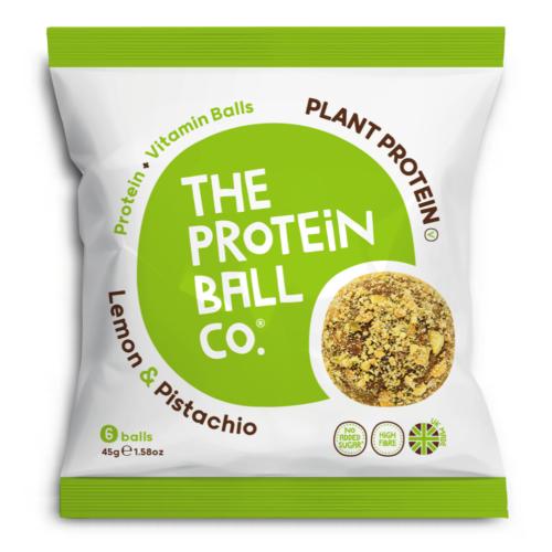 Protein Ball Citrom + pisztácia (vegán) 45 g