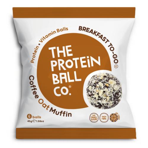 Protein Ball Zabgolyók mogyoró-kávé ízben 45 g - Natur Reform