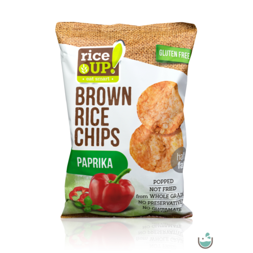 Rice UP! Paprikás barna rizs chips 60 g – Natur Reform