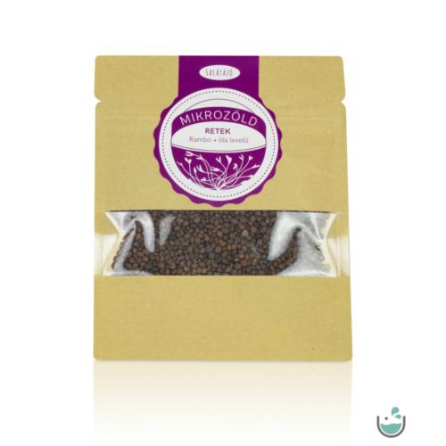 Salátázó mikrozöld rambo retek mag (lila levelű) 30 g