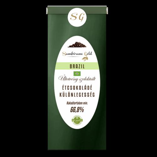 Sambirano Gold Brazíliai Étcsokoládé Különlegesség 50 g