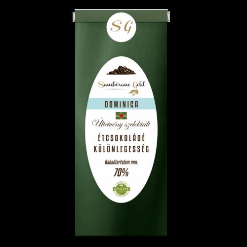 Sambirano Gold Dominicai Étcsokoládé Különlegesség 50 g