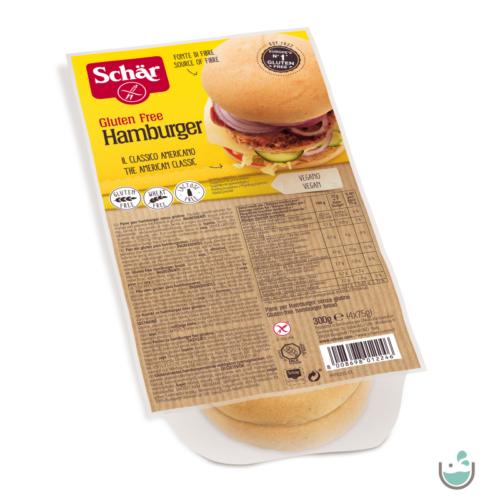 Schär hamburger zsemle 300 g - gluténmentes, vegán