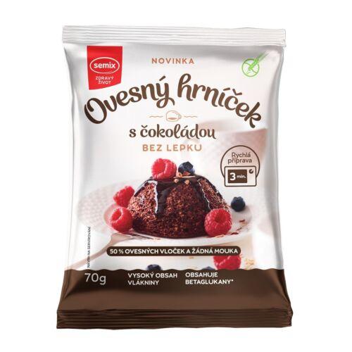 Semix Gluténmentes zabból készült bögrés csokoládés sütemény por 70 g – Natur Reform