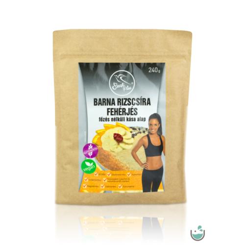 Szafi Free barna rizscsíra fehérjés főzés nélküli kása alap 240 g (gluténmentes, vegán) – Natur Reform