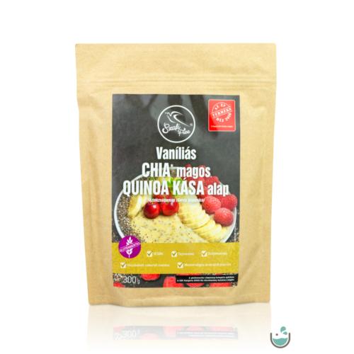 Szafi Free reggeliző vaníliás chia magos quinoa kása alap 300 g – Natur Reform