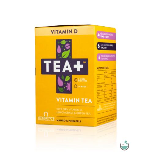 TEA+ D-vitamin Citromfű & Zöld tea – Natur Reform