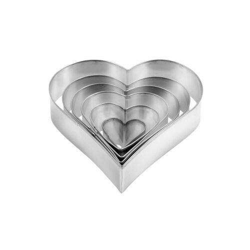 Tescoma DELÍCIA szív alakú kiszúró készlet, 6 db – Natur Reform