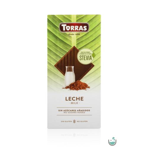 Torras tejcsokoládé hozzáadott cukor nélkül 100 g – Natur Reform