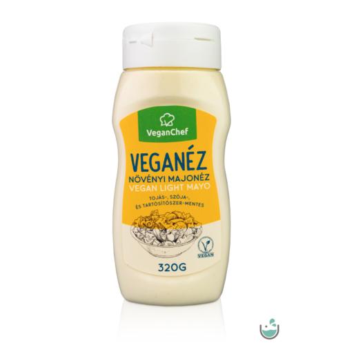 VeganChef Veganéz Light – gluténmentes növényi majonéz 320 g – Natur Reform
