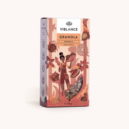 Viblance Granella Mogyorókrémes Granola 275 g – Natur Reform