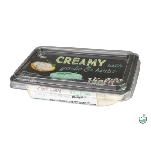 Violife Fokhagymás-fűszeres növényi krémsajt 150 g – Natur Reform