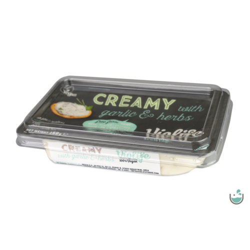 Violife Fokhagymás-fűszeres növényi kenhető krém 150 g