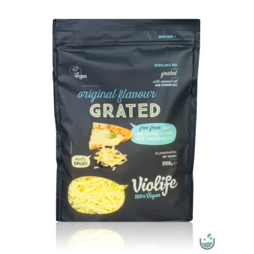 Violife natúr növényi sajt reszelék 200 g – Natur Reform