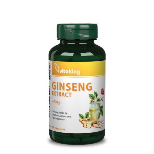 Vitaking Ginzeng kivonat 400 mg - 60 db – Natur Reform