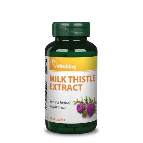 Vitaking Máriatövis Kivonat 500 mg - 80 db – Natur Reform