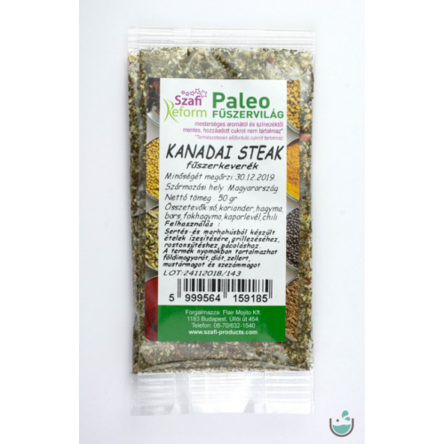 Szafi Reform paleo kanadai steak fűszerkeverék 50 g