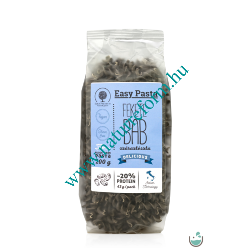 Éden Prémium Easy Pasta – Feketebab tészta orsó 200 g – Natur Reform