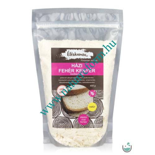Éléskamra Vegán házi fehér kenyér lisztkeverék 400 g – Natur Reform
