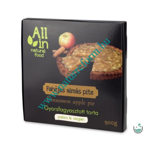 ALL IN natural food Fahéjas almás pite 900 g – Natur Reform
