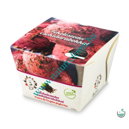 ALL IN natural food Feketeszeder csokoládédarabokkal jégkrém 120 g – Natur Reform