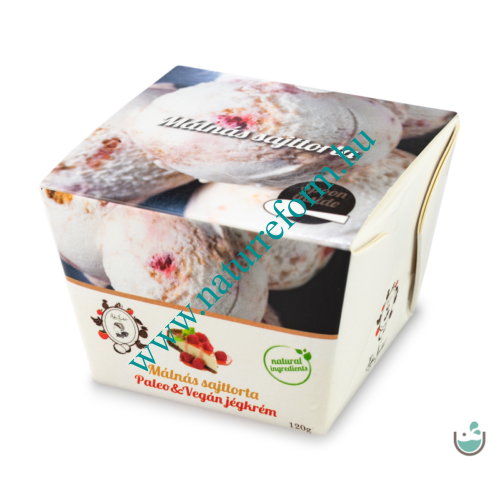ALL IN natural food Málnás sajttorta jégkrém 120 g – Natur Reform