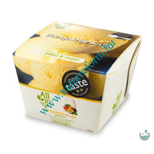 ALL IN natural food Mangó & maracuja jégkrém 120 g – Natur Reform