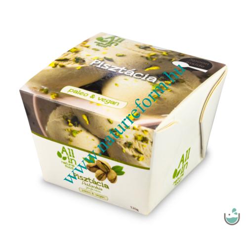 ALL IN natural food Pisztácia jégkrém 120 g – Natur Reform