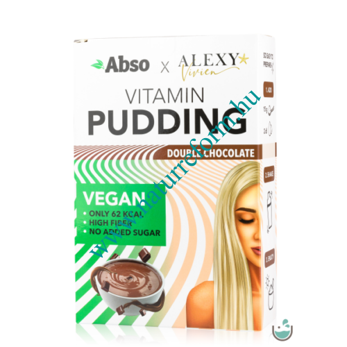 Abso x Alexy Vivien REGGELI Vitamin Pudding 450 g - Dupla csokoládé – Natur Reform