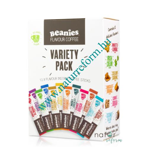 Beanies Ízesített instant kávé válogatás 12 x 2 g – Natur Reform