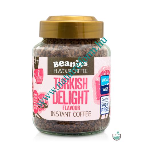 Beanies Török csemege ízű instant kávé 50 g – Natur Reform