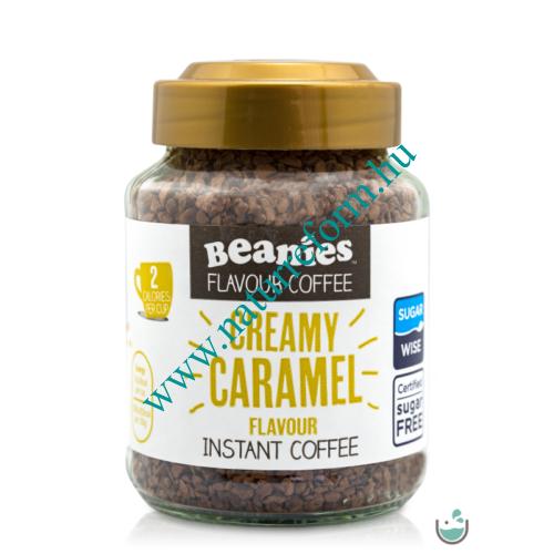 Beanies Krémes-karamella ízű instant kávé 50 g – Natur Reform