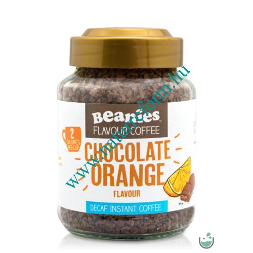 Beanies Narancsos- csokoládés ízű koffeinmentes instant kávé 50 g – Natur Reform