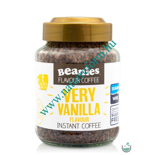 Beanies Vanília ízű instant kávé 50 g – Natur Reform