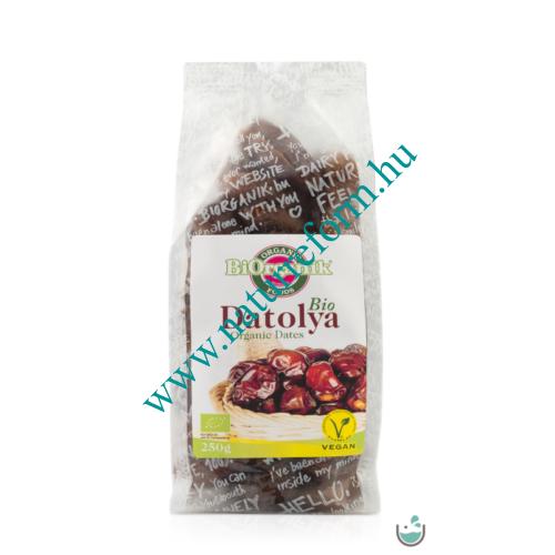 BiOrganik Bio Aszalt Datolya 250 g – Natur Reform