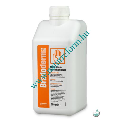 BradoDerm Soft Műtéti kéz- és bőrfertőtlenítőszer 500 ml – Natur Reform