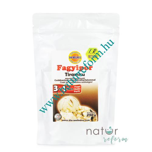 Dia-Wellness Tiramisu fagyipor 250 g – Natur Reform