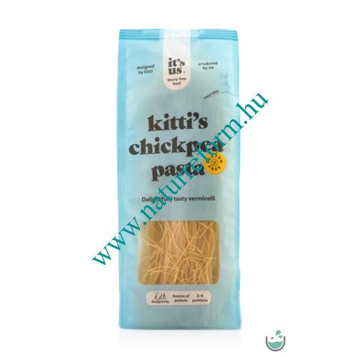 It's us Kitti's Gluténmentes csicseriborsó cérnametélt száraztészta 200 g – Natur Reform